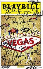 "Tony Danza (Signed) ""HONEYMOON IN VEGAS"" Rob McClure / Jason Robert Brown 2014"