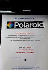 Polaroid LE-32GCL TP.SIS231.P83 Kit de reparación Eprom leer anuncio