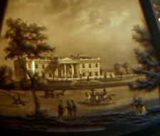 "lithophane student lamp shade, Niagara Falls, White House, Mt Vernon, Staten 12"""
