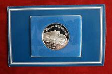 Sehr Selten! Frankreich 100 Francs Silber PP Casino Deauville -Silber Chip