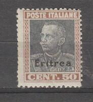 S36307 Eritrea 1928 MNH Definitives 50c Saxon 128 1v