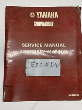 1979 Yamaha Snowmobile Excel-V Service Manual