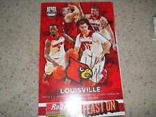 Louisville Cardinals Basketball 2014  Signed Senior Day Poster -Hancock VT Hendo