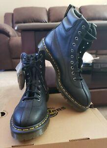 Dr Marten Santo Lace up Boots Black Mens 10  Women 11 New $160