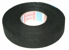 TESA 51608 25m Rubber Adhesive Tape - Black