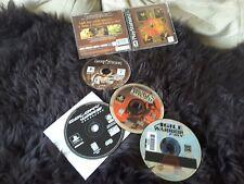 4 playstation 1 games Dark Stone Broken Sword Agile Warrior Colony Wars lot ps1