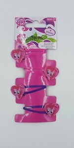 Girls My Little Pony Pinkie Pie Hairclips Set of 4