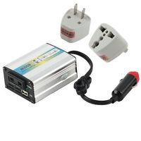 12V DC to AC 220V Car Auto Power Inverter Converter Adapter Adaptor 200W USB YK
