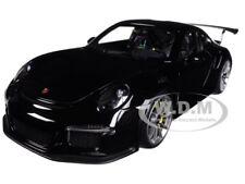 PORSCHE 911 (991) GT3 RS GLOSS BLACK 1/18 MODEL CAR BY AUTOART 78164