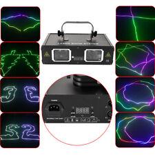 2 Lens Beam Rgb Laser Pattern Light Stage Lighting 30Watt Dmx Dj Bar Party Light