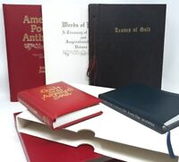 Inspirational Poetry Lot - Leaves of Gold - Hand Numbered, Religious, Christian
