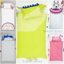 New Fun Collection Kids Duvet Quilt Cover Bedding Set Cat Panda Whale Unicorn