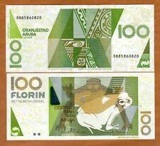 Aruba, 100 florin, 2008, P-19b, UNC > frog florin