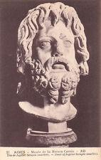 NIMES musée de la maison carrée 27 tête de Jupiter Sérapis