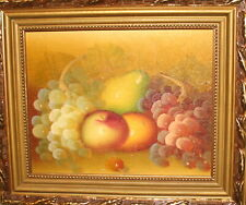 IMPRESSIONIST OIL PAINTING STILL LIFE WITH FRUITS