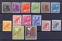 Berlin 21-34 Rotaufdruck postfrisch komplett, tw. geprüft (vs196)