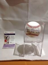 Baseball Royals Dennis Leonard Autographed Baseball JSA Certified (Ripken Jr)