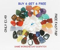 Crystals LARGE Tumblestones £1.49 Buy 6 get 6 FREE P&P Quality Crystals 16-25mm
