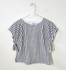 NEW WITH TAGS ZARA GIRLS size 13-14 boxy fit striped top