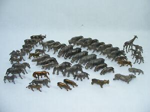 Lot de 48 figurine Animaux Lessive OMO vintage des années 50's 60's 70's