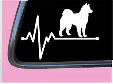 "Klee Kai lifeline Tp 569 vinyl 8"" Decal Sticker dog breed alaskan husky kennel"