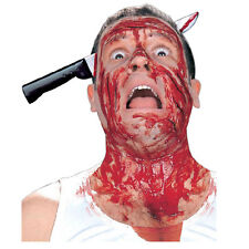 Halloween Fake Knife Through Head Prank Joke Horror Scary Trick Costume Party