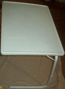 OVER BED / CHAIR TABLE WHITE