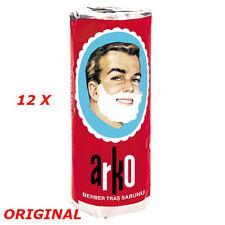 12 x ARKO Shaving Soap 75gr (2.64 oz)ORIGINAL TURKISH PRODUCTION for Traditional