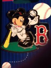 MLB BOSTON RED SOX DISNEY 2008 MICKEY MOUSE BASEBALL PIN NOC
