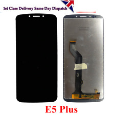 New Moto Motorola E5 Plus XT1924 Complete LCD Display Screen + Digitizer (Black)