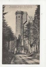 Bergbahn Station Koenigstuhl Aussichtsturm Vintage Postcard Germany 081b