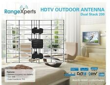 Indoor Outdoor TV Antenna 150 Mile Range - HDTV Antenna