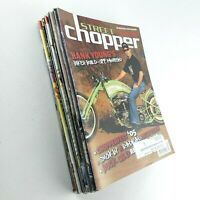 Street Chopper Magazine Motorcycle Bike Hog 2002-2006 Lot of 12