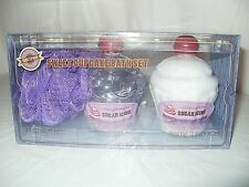 Brand New 6 fl. oz. Simply Pleasures Sugar Icing Sweet Cupcake Bath Set  3 Piece