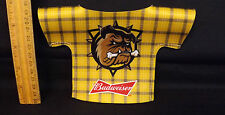 "Budweiser Don Cherry Style Hamilton? Bulldogs Bottle Jacket. ""Very Cherry"""