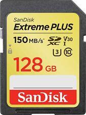 SanDisk - Extreme PLUS 128GB SDXC UHS-I Memory Card