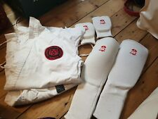 Karate Suit 150cm With Set Of Pads