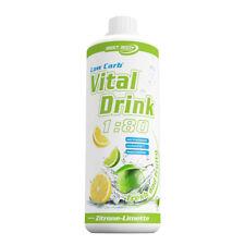 Zitrone Limette Mineraldrink Nutrition Getränkekonzentrat LowCarb Vital Drink 1L