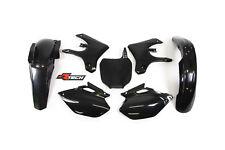 Racetech plastic kit. BLACK YAMAHA YZF 250 450 . 2003 - 2005