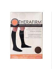 ツ BEST PRICE! THERAFIRM MEN'S MILD SUPPORT TROUSER SOCKS ( MEDIUM-BLACK )