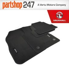 GENUINE VAUXHALL MOKKA / MOKKA X ANTHRACITE VELOUR CARPET FRONT & REAR CAR MATS