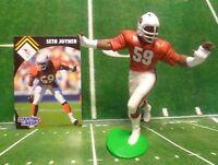 1995  SETH JOYNER - Starting Lineup - SLU - Figure & Card - ARIZONA CARDINALS