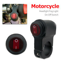 Waterproof 12V Motorcycle Handlebar On Off Switch For Headlight Fog Spot Light