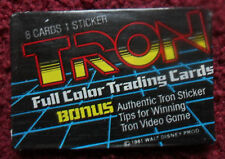 Unopened Pack TRON 1981 DISNEY Movie Cards ~ JEFF BRIDGES Bruce Boxleitner