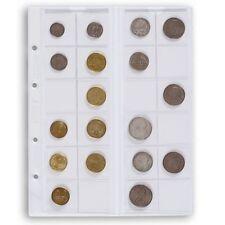 Leuchtturm Optima-Münzhüllen 5er Pack alle verschiedenen Varianten zur Wahl