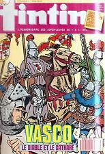 B21- Tintin N°638 Vasco le Diable et le cathare