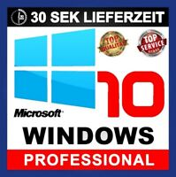 Windows 10 Professional Win 10 Pro 32/64 Bits Produkt Key Aktivierung Online