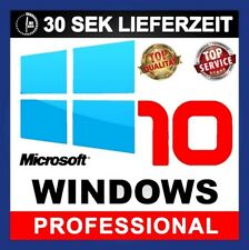Windows 10 Professional 32/64 Bits Product Key - Win 10 Pro OEM Lizenzschlüssel