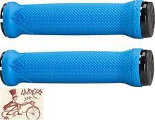 RACEFACE LOVEHANDLE BLUE LOCK-ON MTB BICYCLE GRIPS