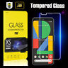 For Google Pixel 4 XL Full Coverage Tempered Glass Screen Protector Film Guard